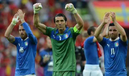 De Rossi, Buffon e Di Natale