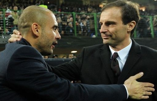 Guardiola e Allegri