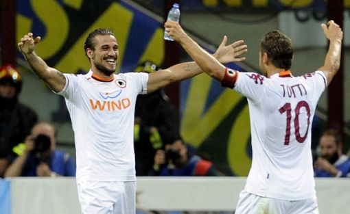 Osvaldo e Totti