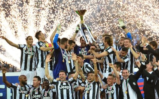 La Juve festeggia il ventinovesimo scudetto