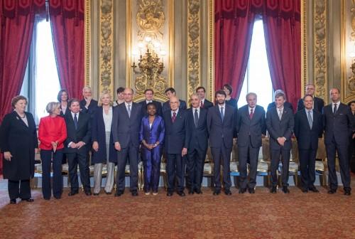 foto dei ministri nuovo governo aprile 2013