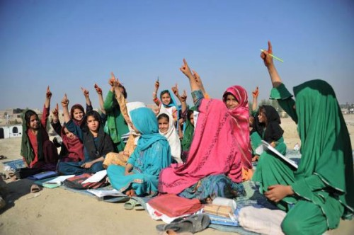 AFGHANISTAN-UNREST-EDUCATION
