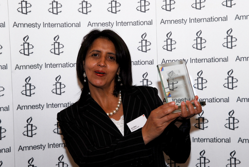 Dina_Meza_at_Amnesty_Media_Awards