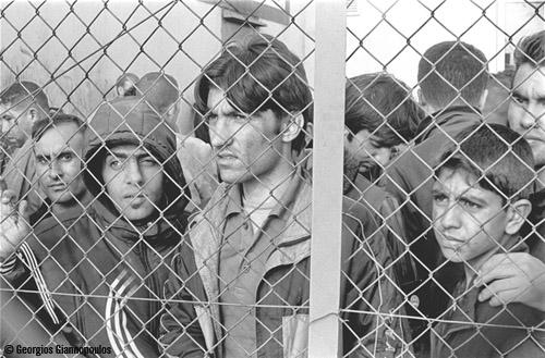 Detained in Fylakio detention center, Evros, Greece.